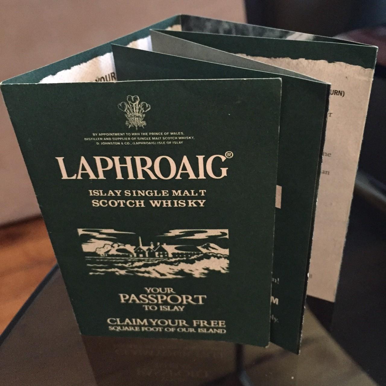 laphroaigpassport