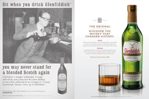 """Glenfiddich The Original: a unique whisky expression produced to celebrate the distiller's 1963 Straight Malt. Recipe re-created by Malt Master Brian Kinsman from the original Glenfiddich ledger notations."" (PRNewsFoto/William Grant & Sons, Ltd.)"