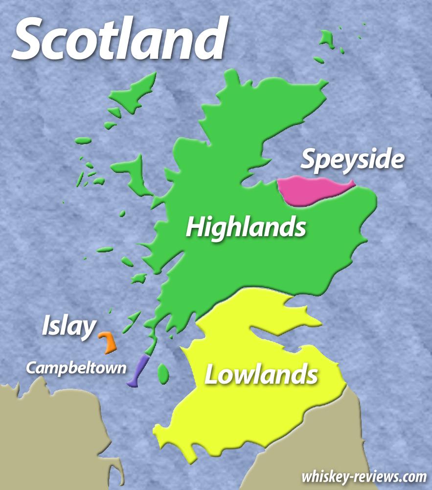 İskoçya Viski Bölgeleri