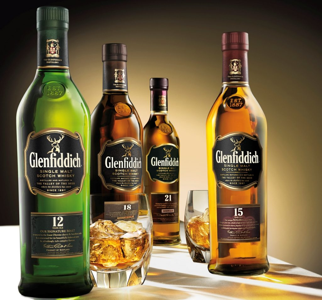 glenfiddich-line-up