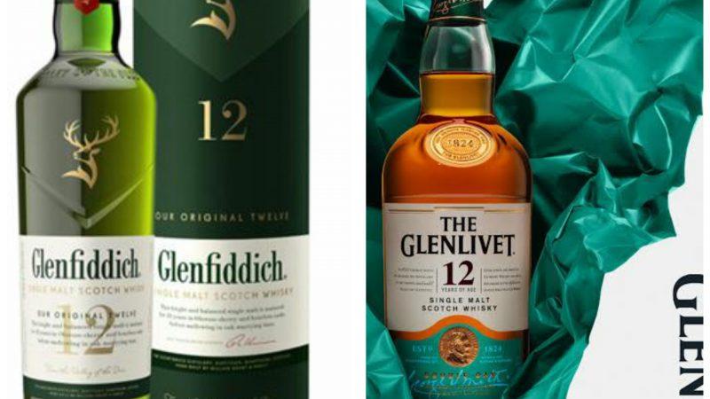 Glenfiddich ve Glenlivet yeni şişe tasarımları